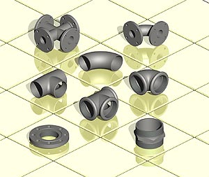 3D-CAD-Software for pipeline planning - Smap3D Piping - Main functions