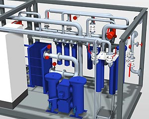 3D-CAD-Software for pipeline planning - Smap3D Piping