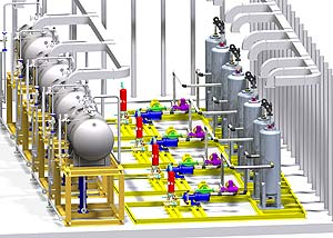 3D-CAD-Software for plant construction: Smap3D Piping
